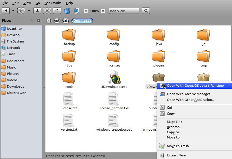 JDownloader - All in one download manager for Linux
