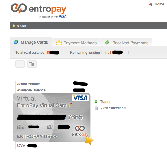 Buy Apps On Google Play With Entropay S Virtual Credit Card